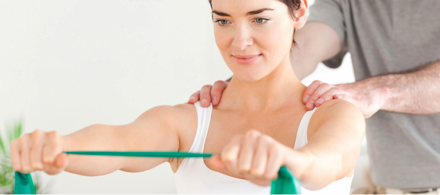 Physiotherapist can help relieve pain
