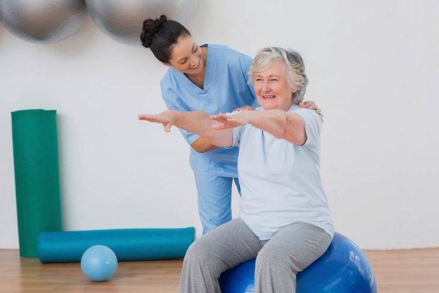 Shoulder Pain Relief by Rehabilitation Treatment Exercise